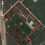 Satellite View of Pastures